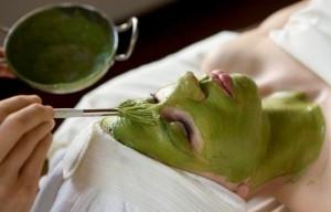 Tratament facial cu ceai verde