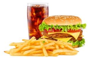 Sarea din produsele fast food